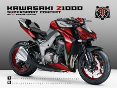 TT BIGBIKE DESIGN KAWASAKI Z1000 SUPERSPORT CONCEPT