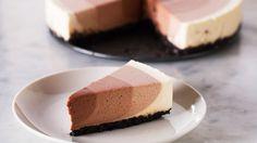 Chocolate Ripple Cheesecake - YouTube