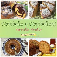 Ciambelle e Ciambelloni soffici - raccolta ricette