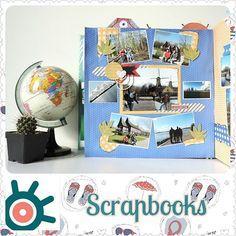 Layout Europa. Libro de fotos Piuri:  Scrapbooks o libro de recortes es la técnica de personalizar álbumes de fotografías !!!