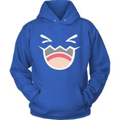 This Pokemon Wobbuffet hoodie is too cute to pass up don't you think?