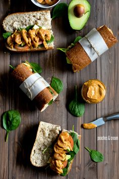 Spicy Roasted Shrimp Sandwiches with Chipotle Avocado Mayonnaise