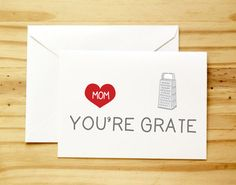 For a punny mom: | 25 Awesome Cards To Make Any Mom Happy