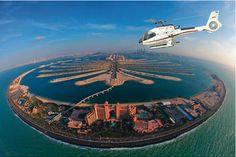 Vol en hélicoptère à Dubaï