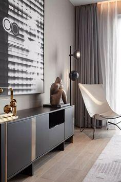 中西交融的当代意境空间——青岛卓越天元样板房 | 周静-设计头条