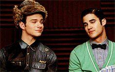 Klaine #gif as i like to call them Blurt :D