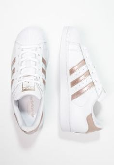 Köp adidas Originals SUPERSTAR - Sneakers - white/super collegiate för 949,00 kr (2017-02-24) fraktfritt på Zalando.se