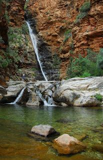 Postcards from a Small Planet: Meiringspoort Waterfall, South Africa