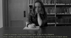 Christina Ricci in Prozac Nation Prozac Nation, Movies Showing, Movies And Tv Shows, Troubles Bipolaires, Waking Up Tired, Citations Film, Christina Ricci, Film Quotes, Film Serie