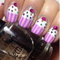 Cupcake nails!