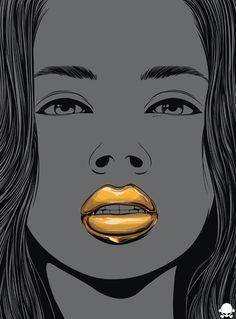 24K by Gerrel Saunders, via Behance