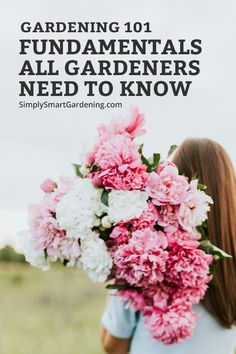 New to gardening? My Gardening 101 series shares everything you need to know to get started. You'll get help with deciding what to plant, where to put your garden, and what you'll need to grow a beautiful garden. Learn how to grow your dream flower garden with my simple tips.  Click to get started! #simplysmartgardening #gardeningforbeginners #gardening101  #howtogrowagarden #gardeningtips #flowergardentips