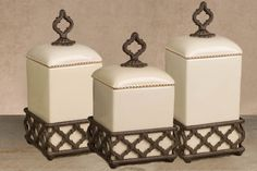 Ogee-G Cream Canister Set - GG Collection* $186.30
