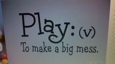 planning to paint this on the way in the play room