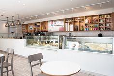 yogurt and ice cream bar on Behance