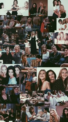 The ladies of Friends Tv: Friends, Friends Scenes, Friends Cast, Friends Episodes, Friends Moments, Friends Tv Show, Wallpaper Quotes, Bts Wallpaper, Disney Wallpaper