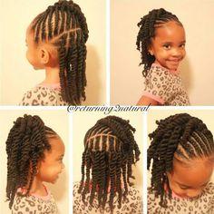 Kids Hair Styles Adorable Returning2Natural  Httpcommunityblackhairinformation