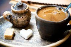 Hot Coffee Sweet Breakfast
