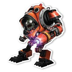 Plants vs Zombies Garden Warfare 2 Wall Decal ZMech II 1025 in x 12 in *** Click image for more details.Note:It is affiliate link to Amazon. #likes4followers