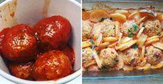 Kuracie fašírky s cuketou v paradajkovej omáčke - Receptik.sk Ethnic Recipes, Eat, Cooking