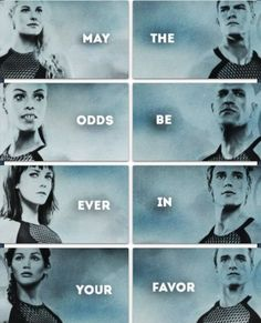 May The Odds Be Ever In Your Favor for the 75th Annual Hunger Games