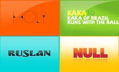 Free Crazy Ass Fonts Series 9 // Via @mywebneel //