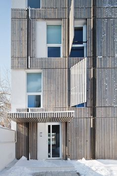 Residential building with 7 apartments  Bucharest, Romania  Synthesis Architecture LTD