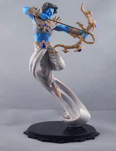 "Virgin Comics Ramayan Lord Rama The Warrior Prince Hindu Limited 11 5"" Statue | eBay"