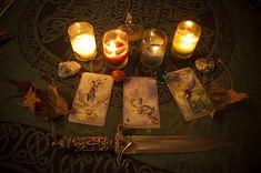 Nice altar! Very nice Athame