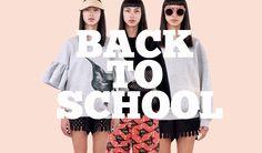 Back to School Campaign on Ioana Ciolacu