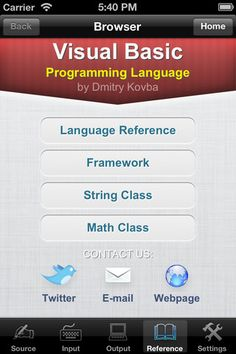 Introduction to programming with visual basic an 5th editio visual basic programming language for ipad iphone and ipod touch programming language fandeluxe Gallery