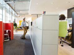 Maximaler Freiraum im Büro