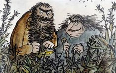 Roald Dahl and the Gruffalo voted best children's author and book.