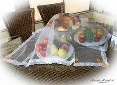 Resultado de imagem para toalha de mesa em filo