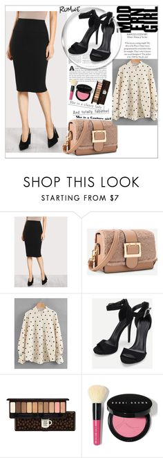 """""""Romwe 3/10"""" by mersy-123 ❤ liked on Polyvore featuring Etude House and Bobbi Brown Cosmetics"""