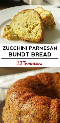 Zucchini Parmesan Bundt Bread (Recipes To Try Parmesan) Bread Recipes, Cooking Recipes, Top Recipes, Asian Recipes, Zucchini Parmesan, Savory Zucchini Bread, Biscuits, Muffins, Yummy Food