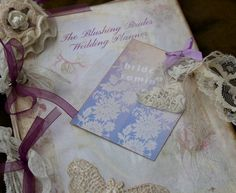 Planning a wedding Wedding Planner  for the Blushing Bride  by youruniquescrapbook, £59.95