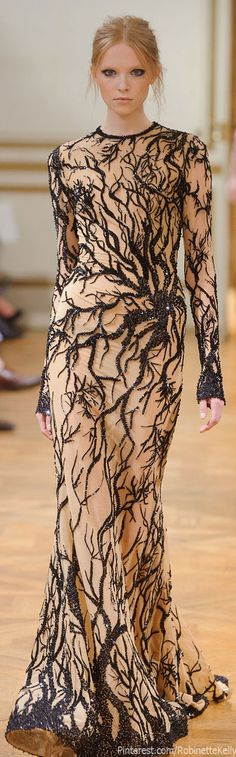 Zuhair Murad Haute Couture F/W 2013    <3 branches (!!!). Stunning !