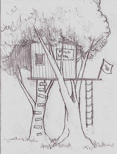 tree house drawings for kids - Google Search
