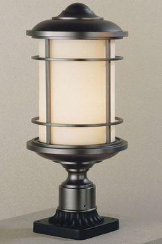 Virginia Outdoor Lamp Post - Outdoor Lamp Post - Outdoor Lighting - Lighting | HomeDecorators.com