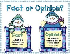 FREEBIE! Here is a great addition to your Winter Literacy workstations! This engaging activity/center will help your students identify Facts from Opinions. This is such an important comprehension skill for our students. It will help them develop discernment in all areas of their lives. Just because someone said it, or it was on TV, does not make it a fact! This center includes: Fact/Opinion Anchor Chart, Sorting Mittens, Fact cards, Opinion cards, and Recording Sheets!