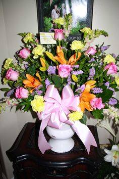 Flowers by Lorilee: Sympathy Flowers for the Jensen Family
