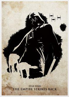 Star Wars V el Imperio contraataca.