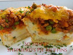 My Favorite Things: So Simple Shepherd's Pie Muffins