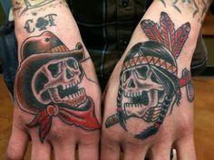native american skull tattoo - Google-søk