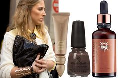 Gorgeous Beauty Trends We Spied On Real Girls - Brown nails, Argan oil <3