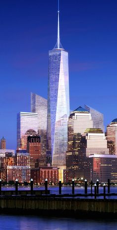Completed Freedom Tower, NYC. To charter an aircraft, call one of our helpful associates at (888) 594-7141.#nydesignagenda #toparchitects