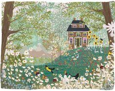 Garden Dream no. 1 by Joy Laforme on Artfully Walls
