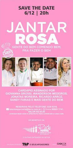 #Jantar Rosa garante excelente experiência gastronômica em prol da luta contra o câncer - Tribuna Hoje: Jantar Rosa garante excelente…
