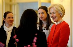 The Governor-General Quentin Bryce spoke to new generation of scientists at Government House.